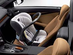 mercedes baby car seat mercedes to offer vouchers for child seats autoevolution