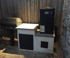 built in cold smoker for electric smoker