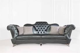 canape design cuir canapé design nouveau baroque en cuir 2 places 3 places