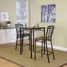 Square Bistro Table And Chairs Indoor Pub Table Set Wayfair