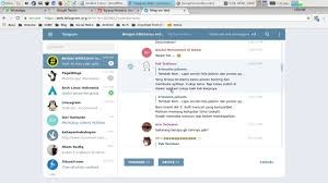 Telegram Web How To Back Up Chat On Telegram Web With Chromium