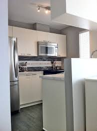 small condo kitchen redo eclectic kitchen montreal by jean