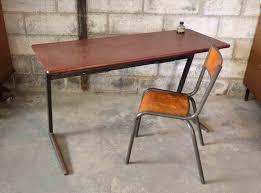 bureau industriel pas cher intérieur de la maison petit bureau industriel ecolier le bois