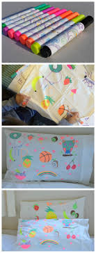 design your own pillowcase a activity for kids design your own pillow education