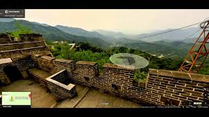 Map Of Great Wall Of China by Touring Google Maps Part 4 North Korea And Great Wall Of China