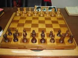 dubrovnik 1950 original maple u0026 walnut chess pieces