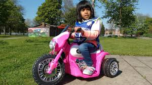 frozen power wheels sleigh pink harley davidson ride on power wheels motorbike surprise