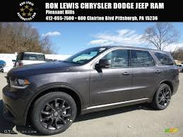jeep durango 2016 2016 granite crystal metallic dodge durango r t awd 111597810