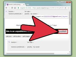 how to repost on craigslist 7 steps with pictures wikihow