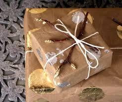 metallic wrapping paper design sponge