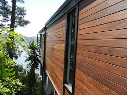 wood paneling exterior ipe siding and ipe decking project contemporary exterior san