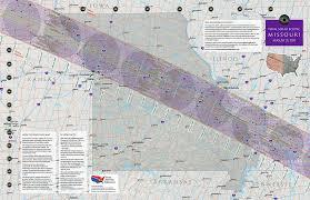 map of missouri missouri eclipse total solar eclipse of aug 21 2017