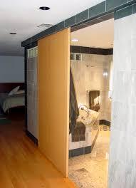 bathroom door ideas asian contemporary wooden sliding bathroom door for minimalist