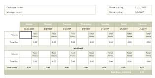 time sheet excel template time sheet template
