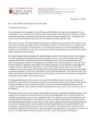 sample medical recommendation letter depar tm en t o f med