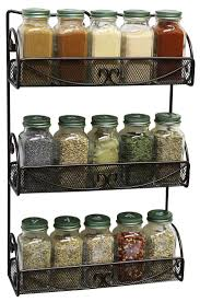 Best Spice Racks For Kitchen Cabinets The 25 Best Wall Mounted Spice Rack Ideas On Pinterest Kitchen