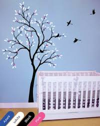 Tree Wall Decor For Nursery Baby Nursery Tree Wall Decal Vinyl Wall Decor Mural Decoration