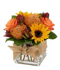 thanksgiving bouquet nature inspired cube bouquet at from you flowers