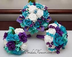 Violet Wedding Flowers - best 25 purple turquoise weddings ideas on pinterest peacock