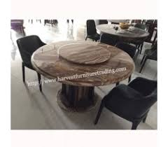 rotating dining table rotating dining harvest furniture marble dining table with rotating centre