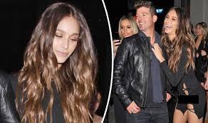 photos celebrity wardrobe malfunctions abc news robin thicke s girlfriend april love geary has wardrobe malfunction