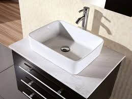 vessel sinks for bathrooms cheap 30 portland vessel sink vanity espresso bathgems com
