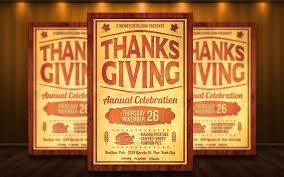 thanksgiving flyer template by matteogianfreda94 on deviantart