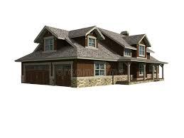 3d house builder 3d model of ranch home stock vector illustration of builder 2089814
