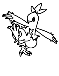 blaziken pokemon coloring pages images pokemon images