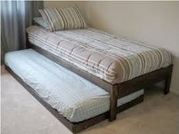 Santa Cruz Bedroom Furniture by Amazon Com Santa Cruz Twin Bed With Trundle Rustic Walnut