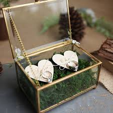 unique wedding favors unique wedding favors hexagonal geometric ring box flower jewelry