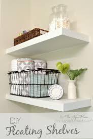 home decor shelves diy floating shelves a great storage solution
