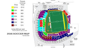 Mlb Map Minnesota United Fc Vs Club Leon At Target Field Mlb Com