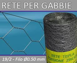 reti per gabbie rete tripla torsione 19 2 italreti produzione rete per recinzione