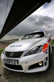 lexus uk service plan over funded uk police department buys lexus is f