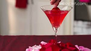martini and rossi rose rose petal martini youtube