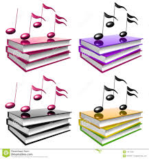 learn and song by books icon symbol stock illustration