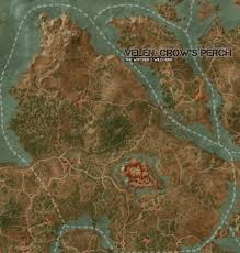 The Witcher 3 World Map by Velen Crow U0027s Perch Map The Witcher 3 Wild Hunt Maps U0026 Quests