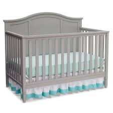 Gray Convertible Crib Delta Children Madrid 4 In 1 Convertible Crib Gray Walmart