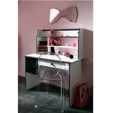 bureau de fille pas cher bureau blanc ado bureau modulable 140 cm avec caisson bureau ado