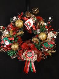 ugly christmas sweater wreathugly sweater wreathunique