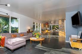 mid century modern kitchen flooring franklin hills midcentury modern parson architecture
