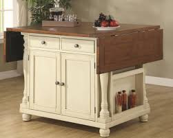 Kitchen Island With Leaf White Portable Kitchen Island With Drop Leaf Kitchen Amazing