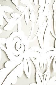 wedding backdrop design template diy papercut leaves backdrop ruffled