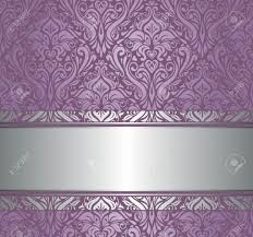 Purple Damask Wallpaper by Violet And Silver Luxury Vintage Wallpaper Royalty Free Cliparts