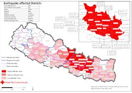 Nepal Map World by Nepal Maps Ifrc