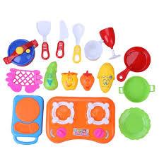 cuisine pour bébé 17 pcs simulé cuisine ustensiles de cuisine pour bébé enfants jouer