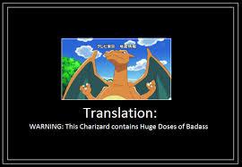 Meme Translation - charizard translation meme by 42dannybob on deviantart