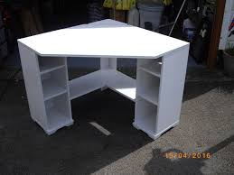 White Ikea Corner Desk by Weathered Wood Corner Desk Best Home Furniture Decoration