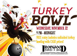 turkey bowling thanksgiving 2017 ironwood chophouse saloon